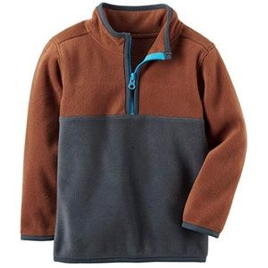 Boys' Carter's Colorblock Fleece 1Pullover, Sz. 8